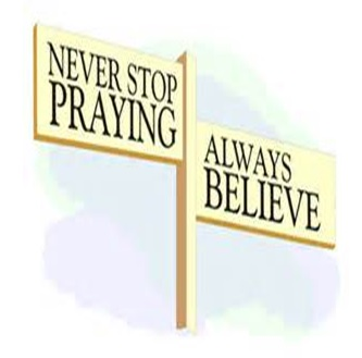 Never Stop Praying